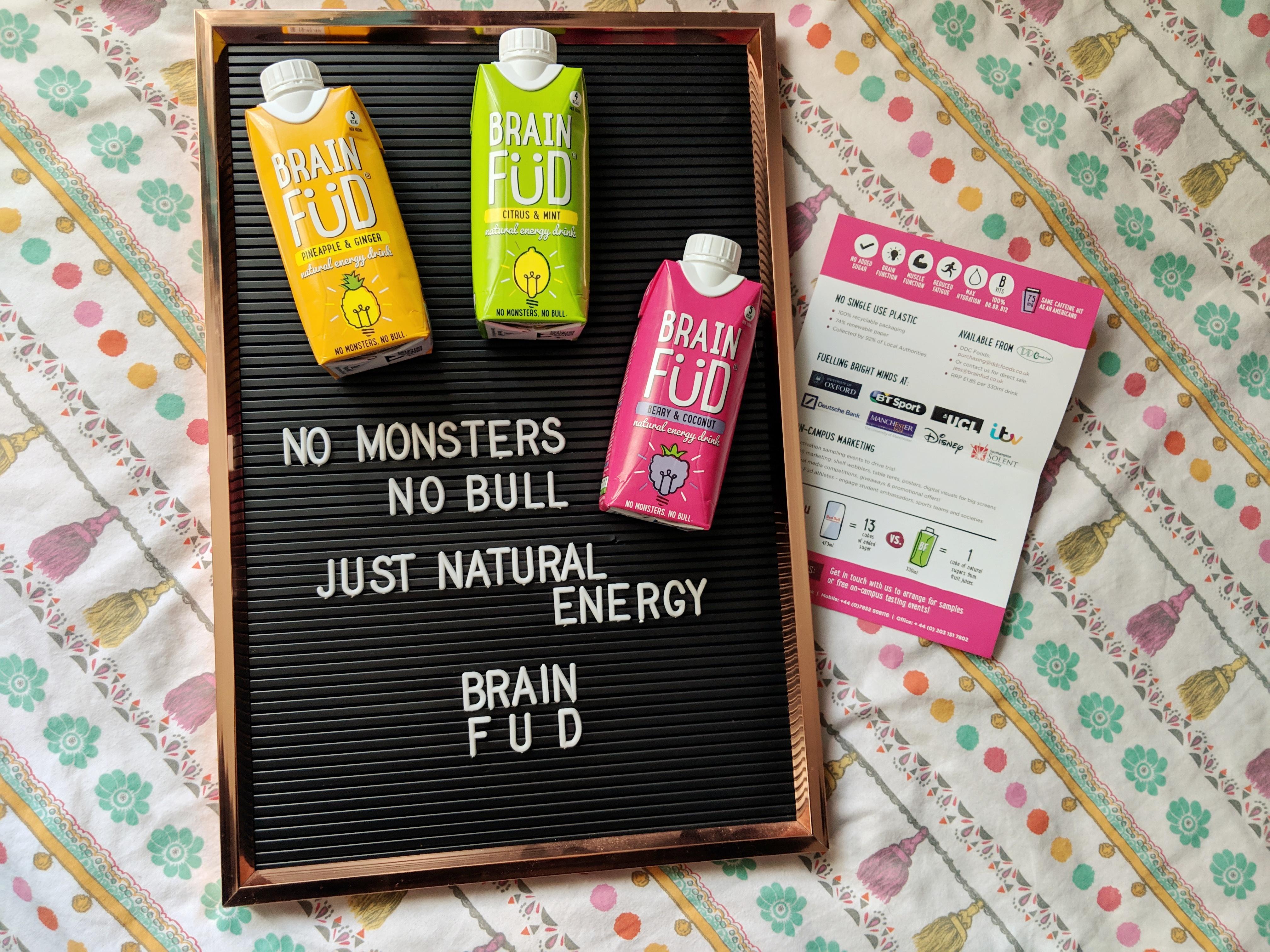 REVIEW | Brain Füd Energy Drinks