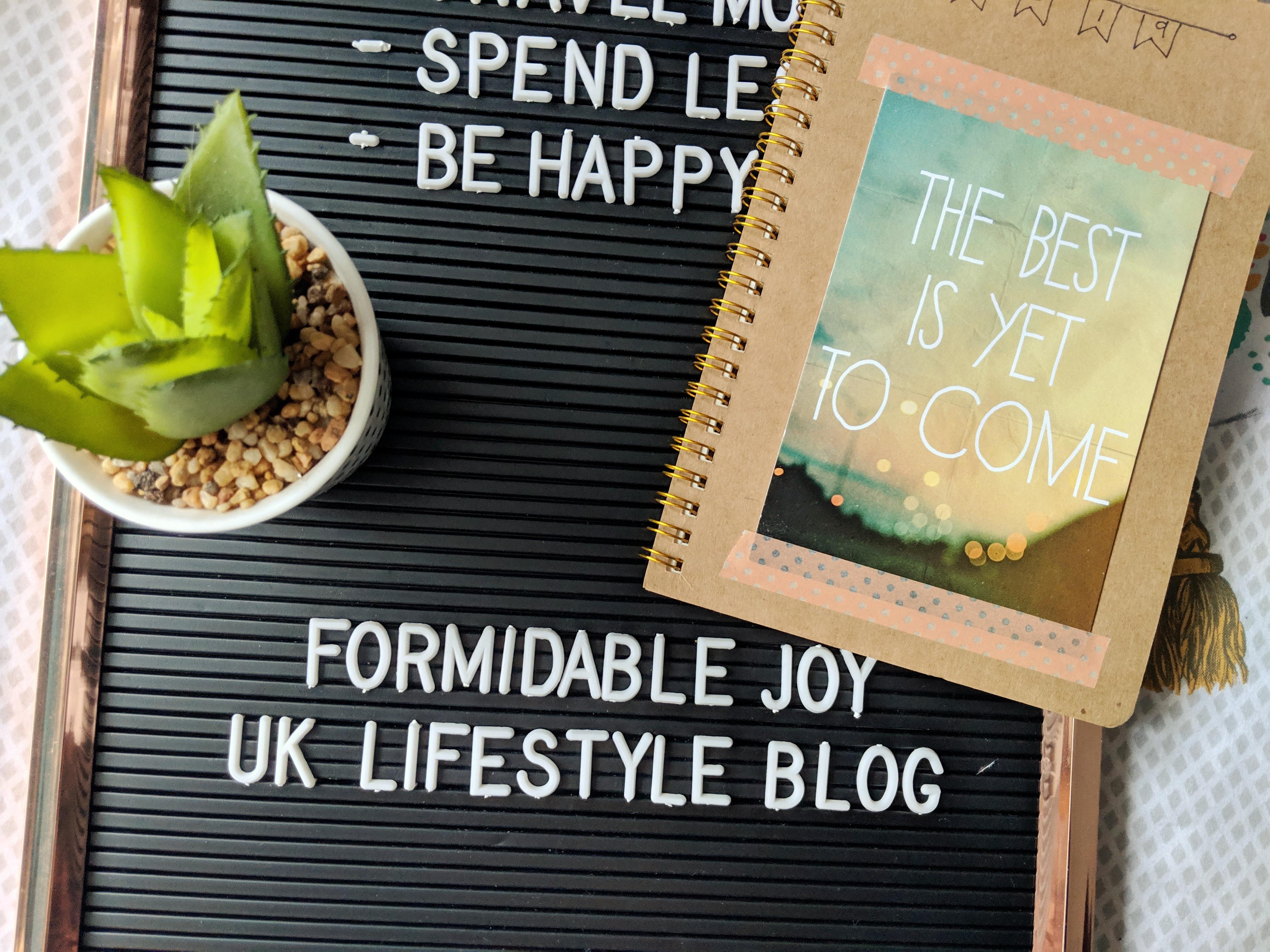 BLOGGING | Formidable Joy in 2019